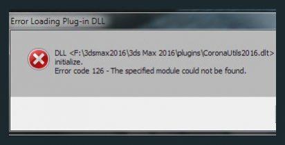 Fix loi DLL corona render