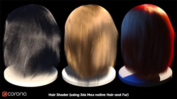 corona hair and skin