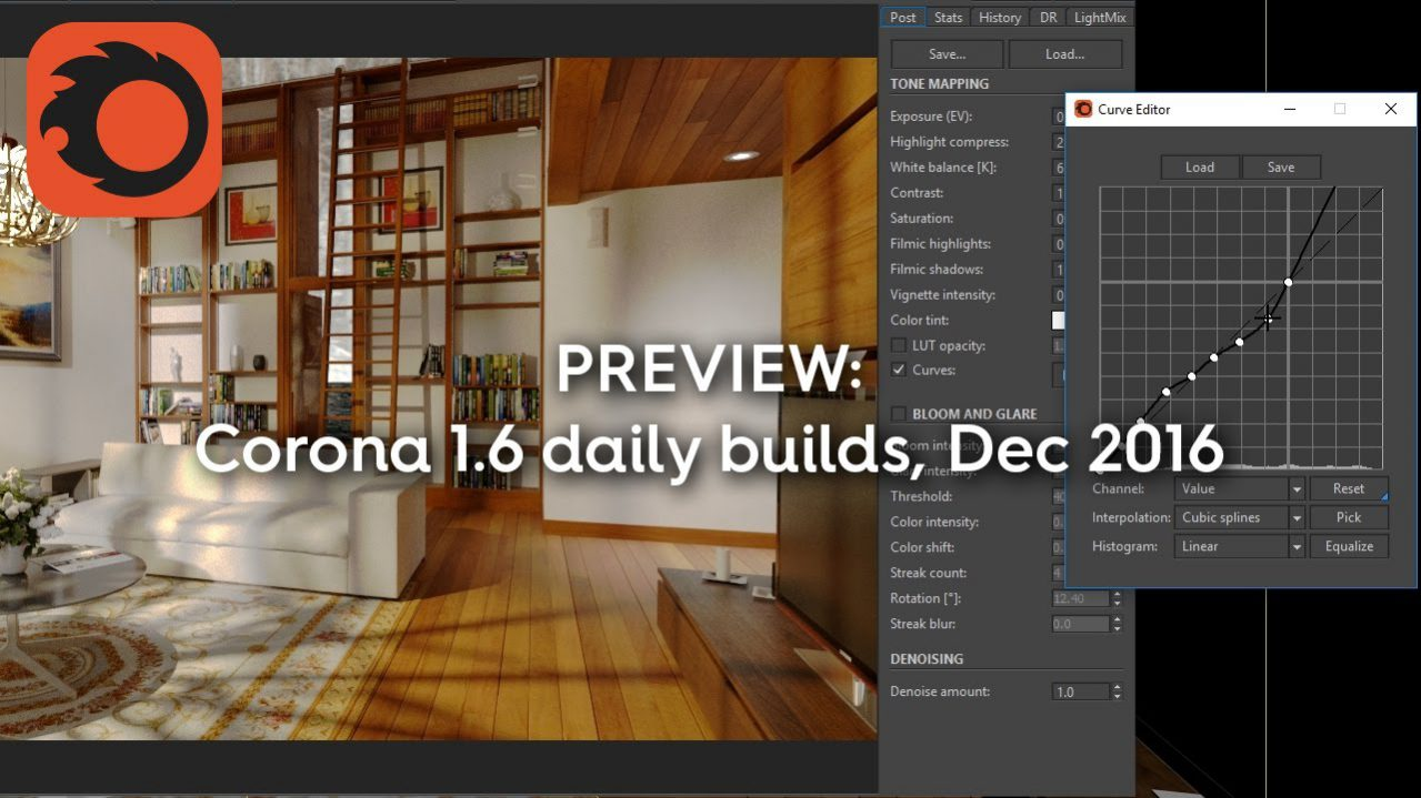Bản cập nhật Corona 1.6 Daily Build với nhiều tính năng linh hoạt