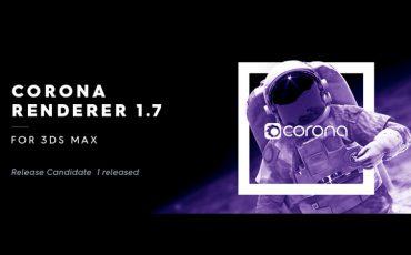 Ra mắt bản corona 1.7 cho 3ds max