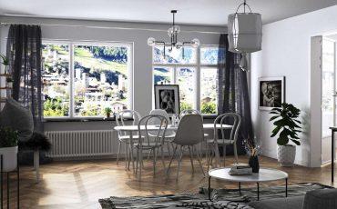 Hướng dẫn thiết lập ánh sáng nội thất với Corona Renderer