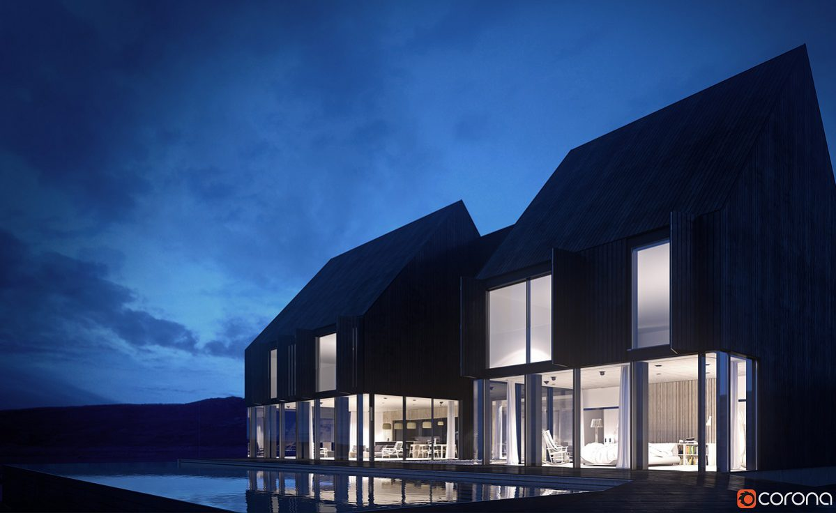 Rendering trong diễn họa kiến trúc 2016