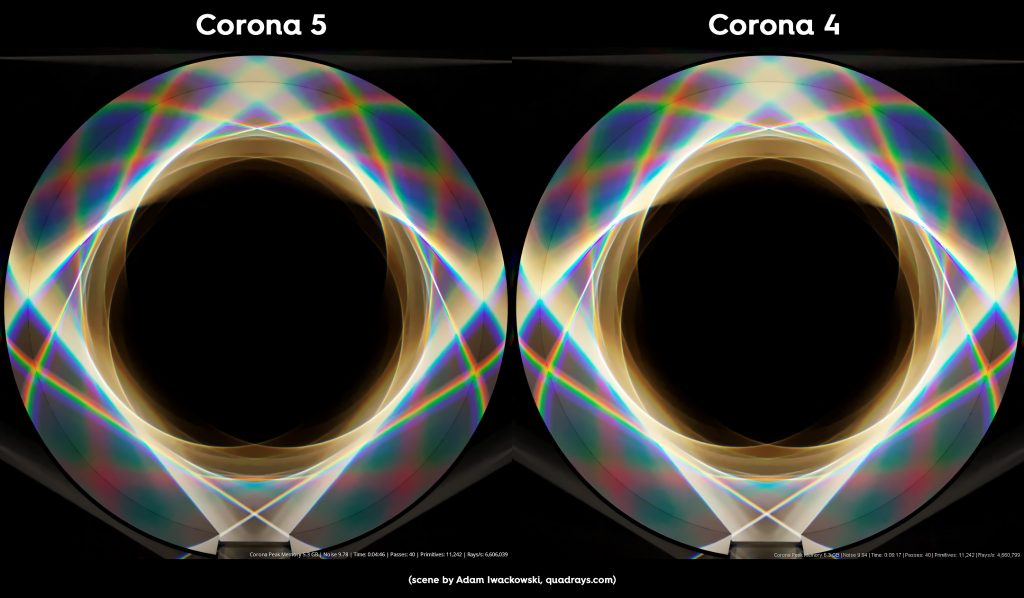Caustic Corona Render