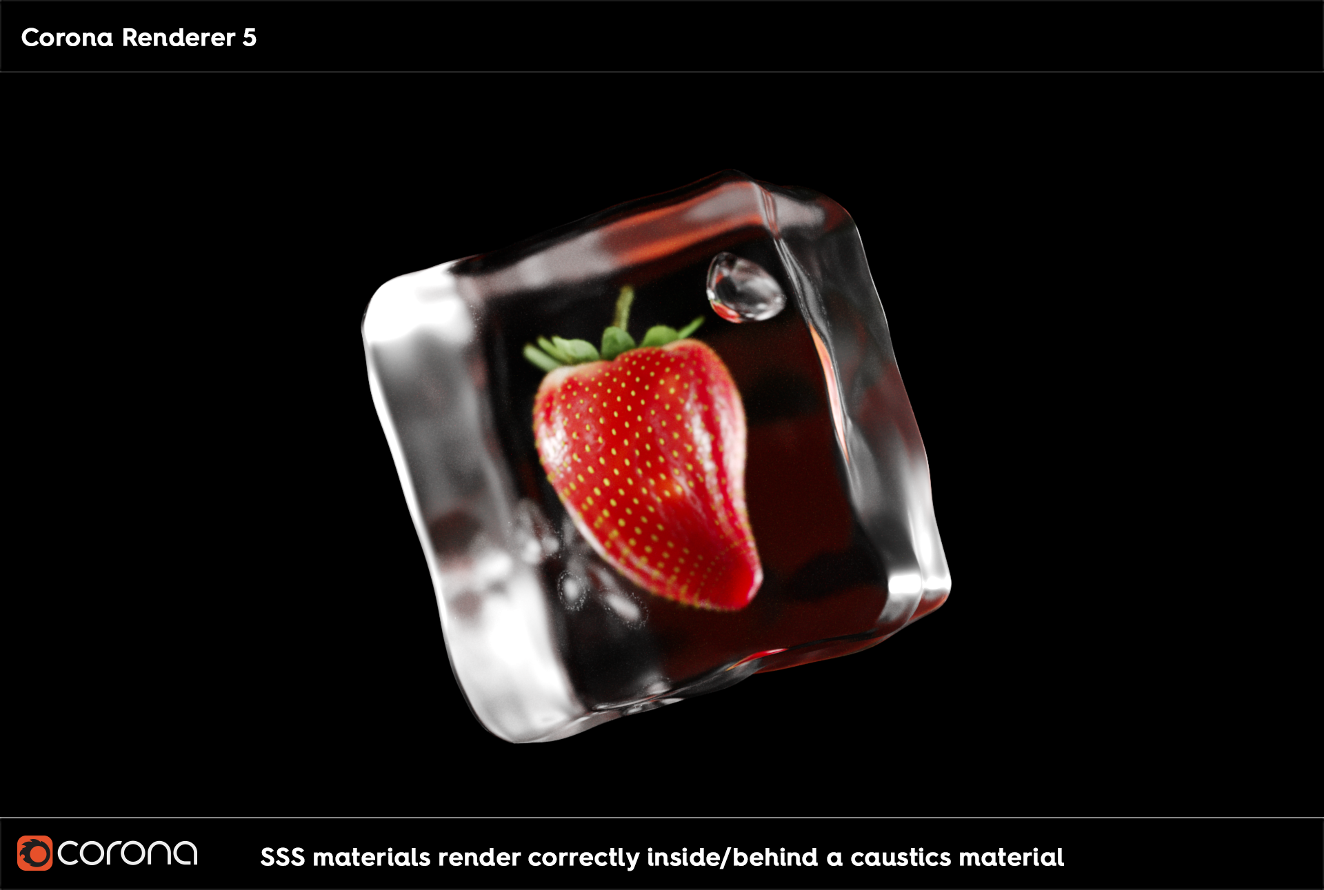 Corona render SSS materials