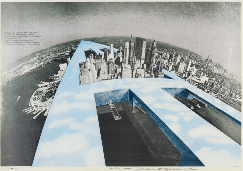 Superstudio, Đài tưởng niệm  1969