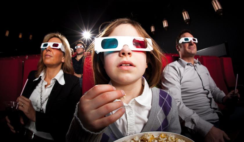 kính xem phim định dạng 3D